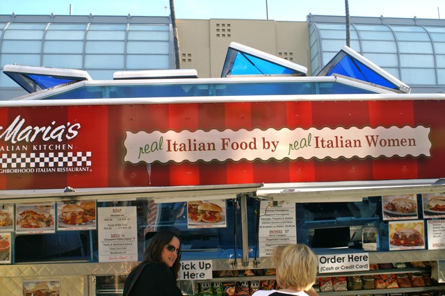 "maria's ""the italian (kitchen)truck"" 
