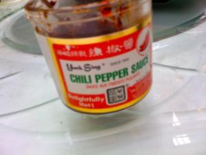 yank sing chili pepper sauce