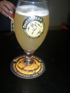 thirsty bear goblet