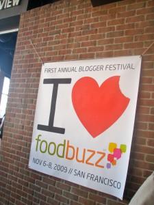 i heart foodbuzz at Metreon
