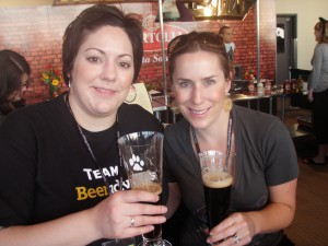 candice from beeradvocate.com and marissa from vivalafoodies.com