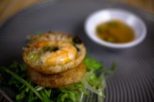 shrimp cake luis castro vivalafoodies.com