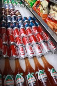 the placeLA sodas