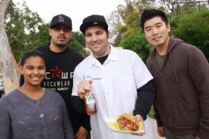 hanging out with the crew from theplaceLA food truck los angeles