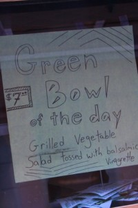 green bowl of the day