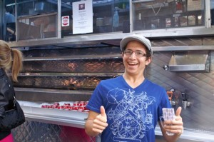 Brian at the Tasty Meat Food Truck