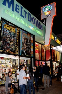 taking it to the streets at meltdown comics