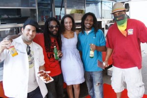Reggae Chicken Crew with BlazeMob