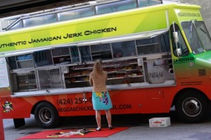 reggae chicken food truck