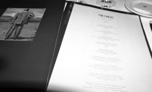 michaels santa monica menu
